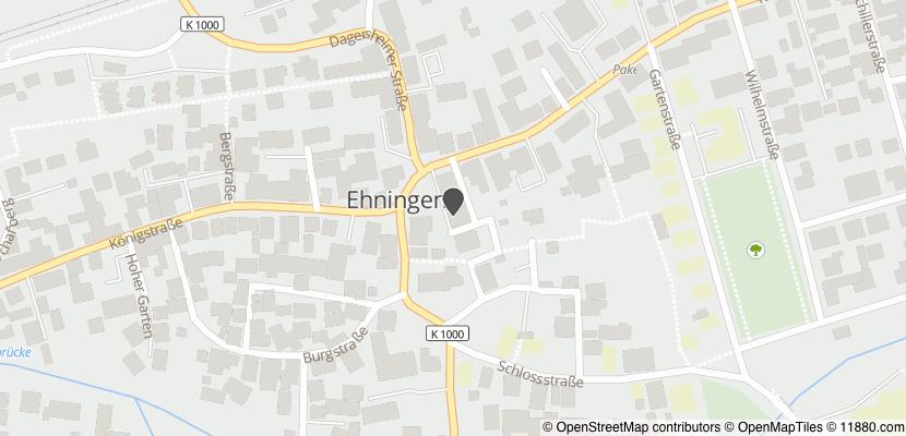 Auf Stadtplan Ehningen, Kreis Böblingen anzeigen