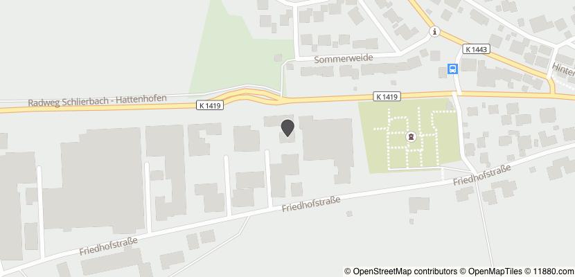 Auf Stadtplan Hattenhofen, Württemberg anzeigen