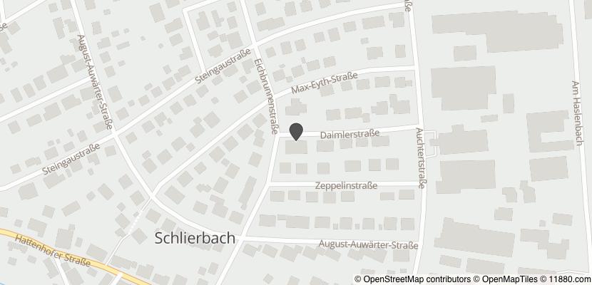 Auf Stadtplan Schlierbach, Württemberg anzeigen