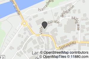 Auf Stadtplan Landau an der Isar anzeigen