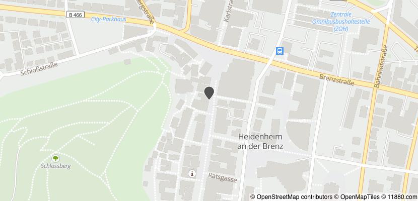 Auf Stadtplan Heidenheim an der Brenz anzeigen