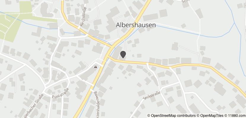 Auf Stadtplan Albershausen anzeigen
