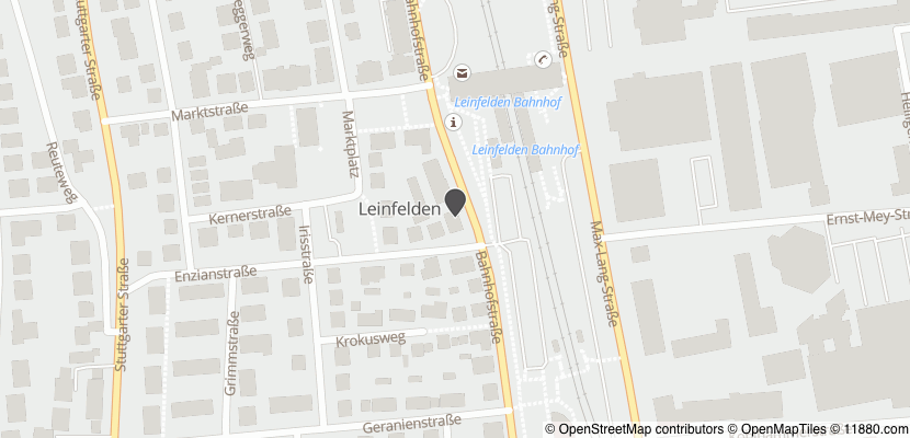 Auf Stadtplan Leinfelden-Echterdingen anzeigen