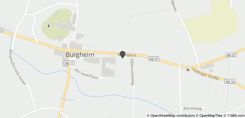 Auf Stadtplan Burgheim, Oberbayern anzeigen