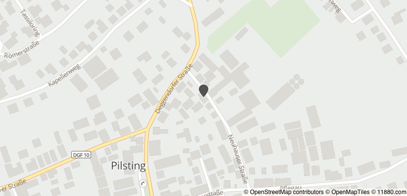 Auf Stadtplan Pilsting anzeigen