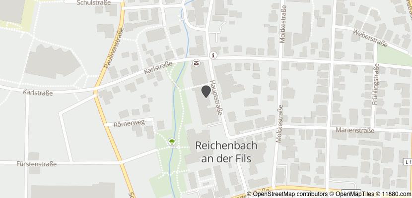 Auf Stadtplan Reichenbach an der Fils anzeigen
