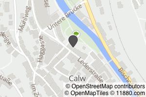 Auf Stadtplan Calw anzeigen