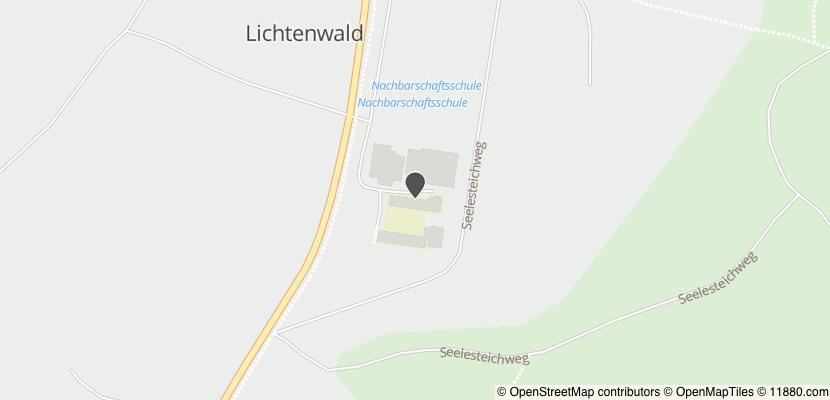 Auf Stadtplan Lichtenwald, Württemberg anzeigen
