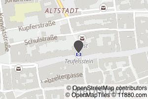 Auf Stadtplan Ingolstadt, Donau anzeigen