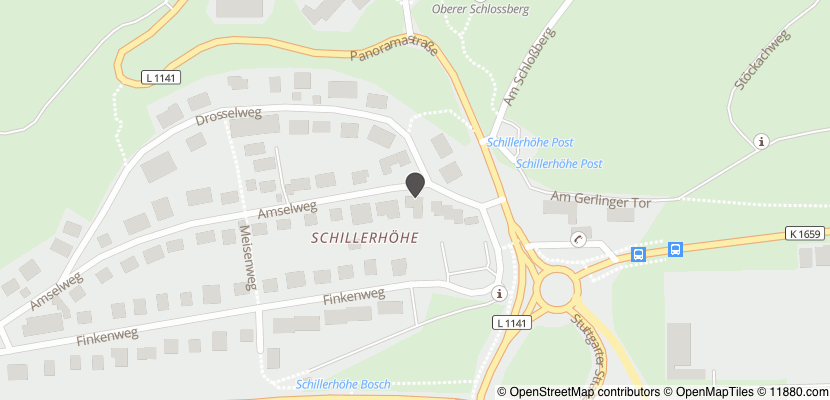 Auf Stadtplan Gerlingen, Württemberg anzeigen