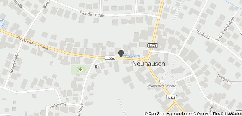Auf Stadtplan Neuhausen, Enzkreis anzeigen