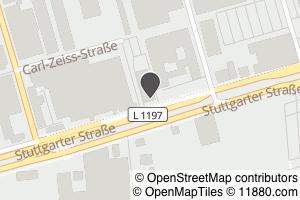 Auf Stadtplan Fellbach, Württemberg anzeigen