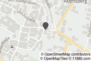 Auf Stadtplan Abensberg, Hallertau anzeigen