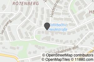 Auf Stadtplan Aalen, Württemberg anzeigen