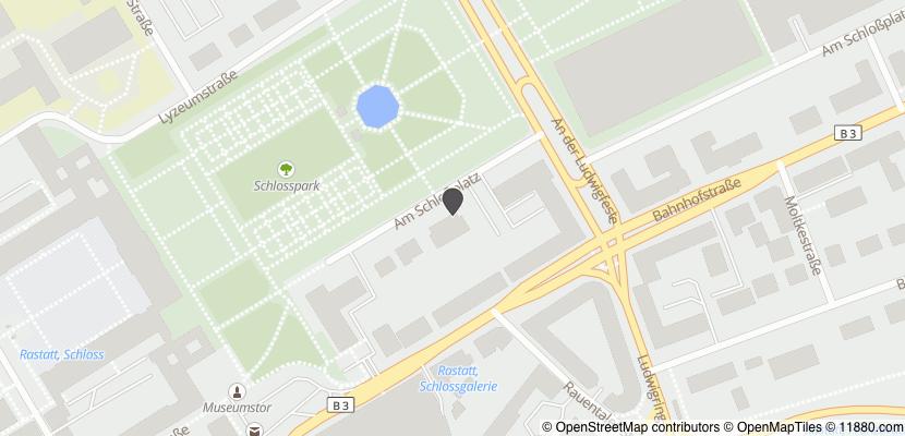 Auf Stadtplan Rastatt anzeigen