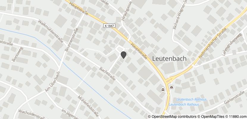 Auf Stadtplan Leutenbach, Württemberg anzeigen