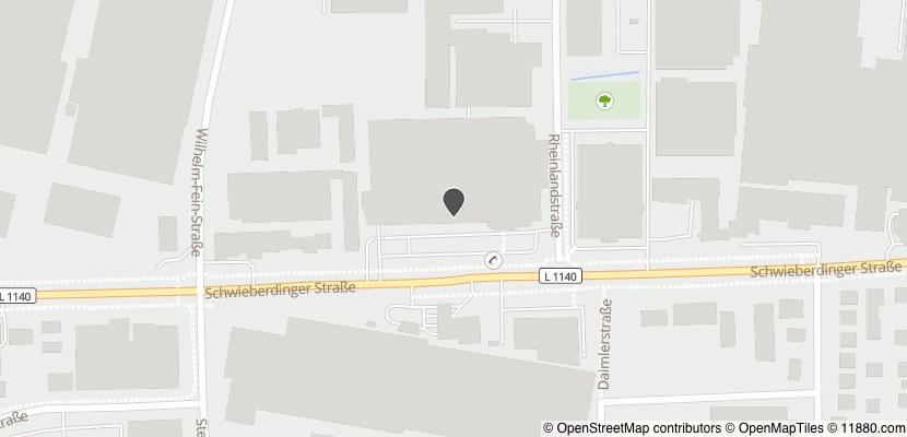 Auf Stadtplan Ludwigsburg, Württemberg anzeigen