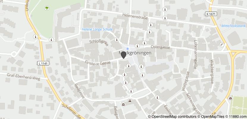 Auf Stadtplan Markgröningen anzeigen