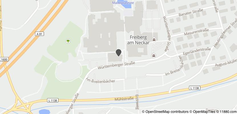 Auf Stadtplan Freiberg am Neckar anzeigen