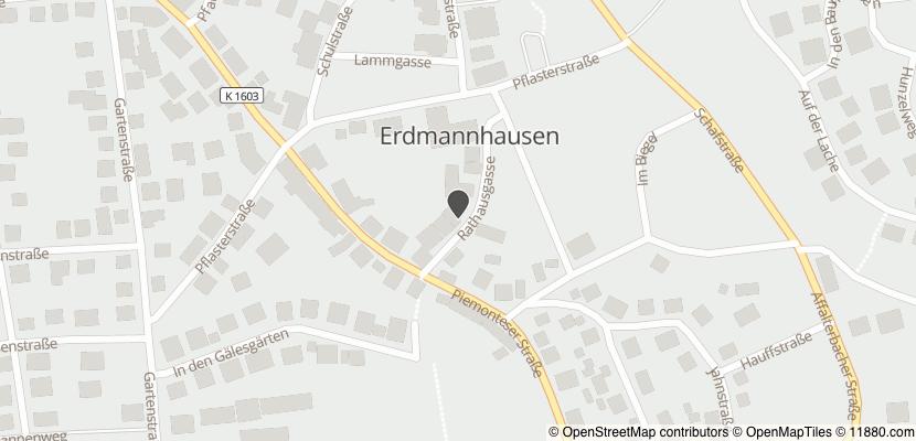 Auf Stadtplan Erdmannhausen anzeigen