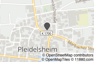 Auf Stadtplan Pleidelsheim anzeigen