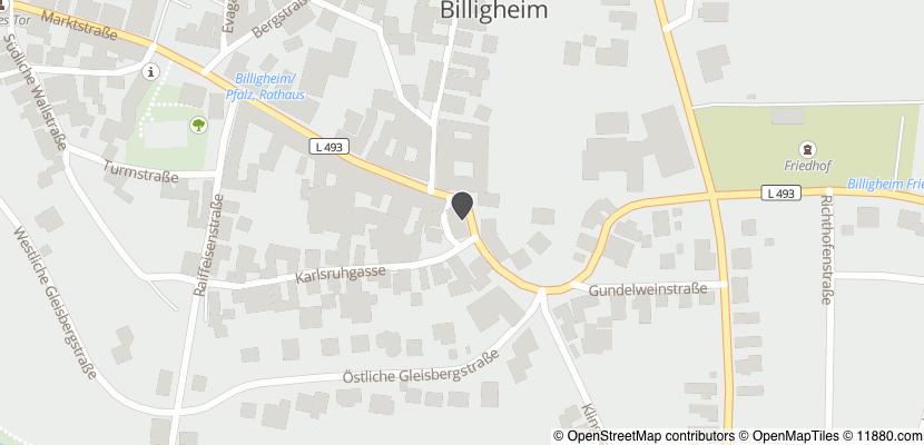 Auf Stadtplan Billigheim-Ingenheim anzeigen