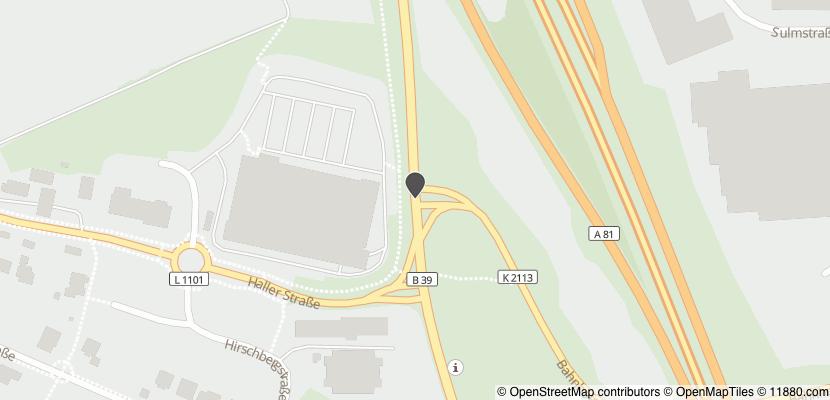 Auf Stadtplan Weinsberg anzeigen