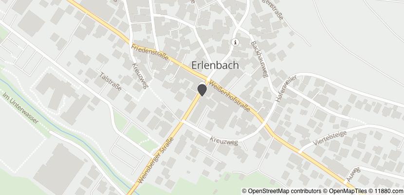 Auf Stadtplan Erlenbach, Kreis Heilbronn anzeigen