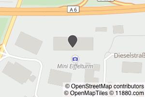 Auf Stadtplan Satteldorf anzeigen