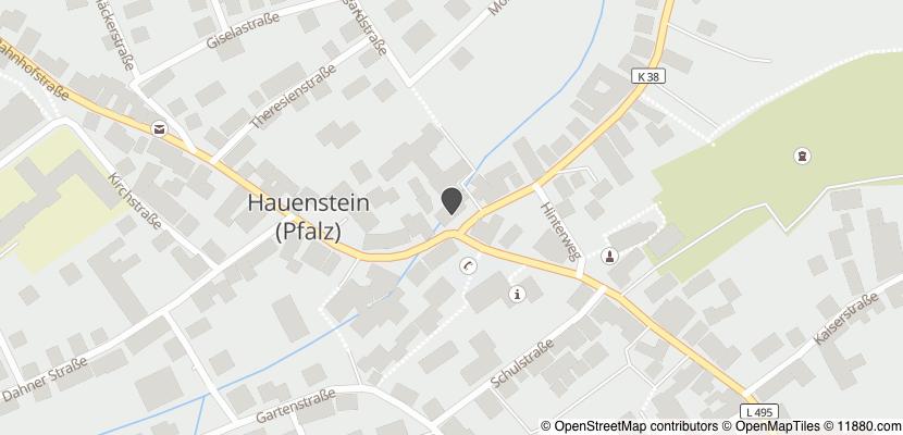 Auf Stadtplan Hauenstein, Pfalz anzeigen