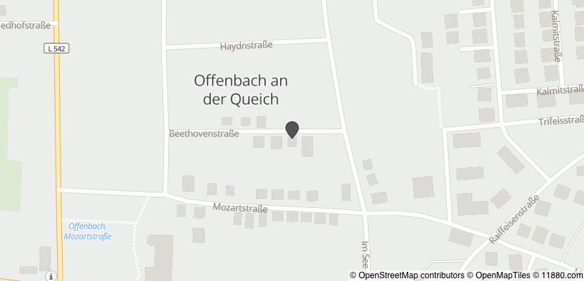 Auf Stadtplan Offenbach an der Queich anzeigen