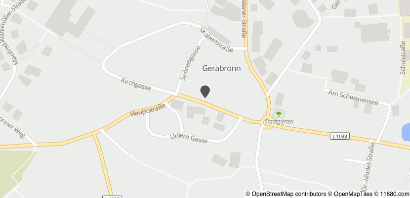 Auf Stadtplan Gerabronn, Württemberg anzeigen