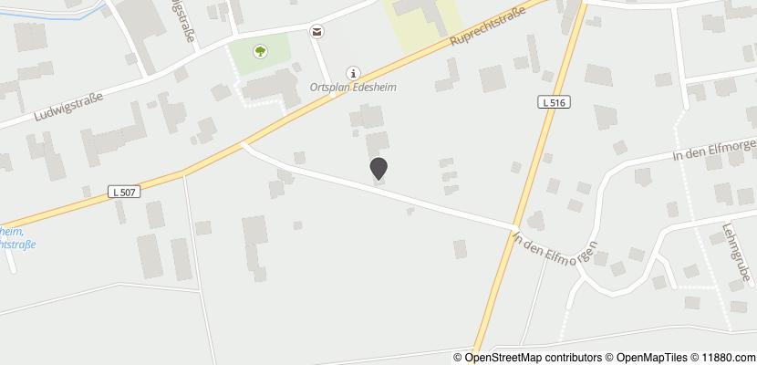 Auf Stadtplan Edesheim, Pfalz anzeigen