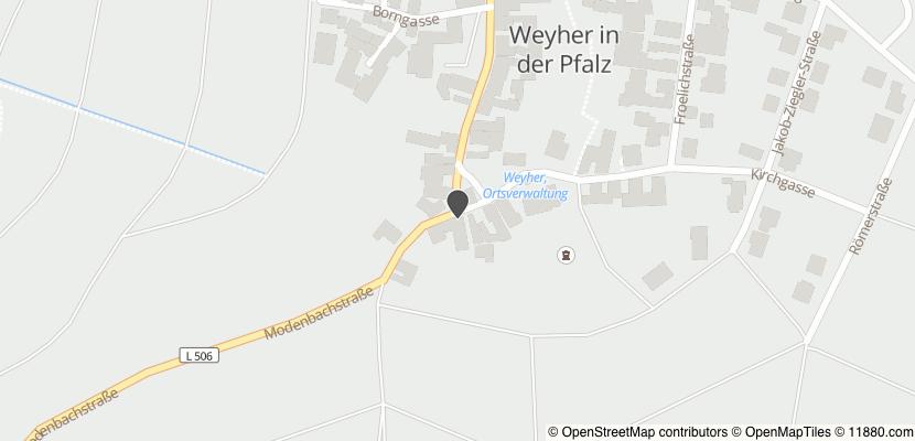 Auf Stadtplan Weyher in der Pfalz anzeigen