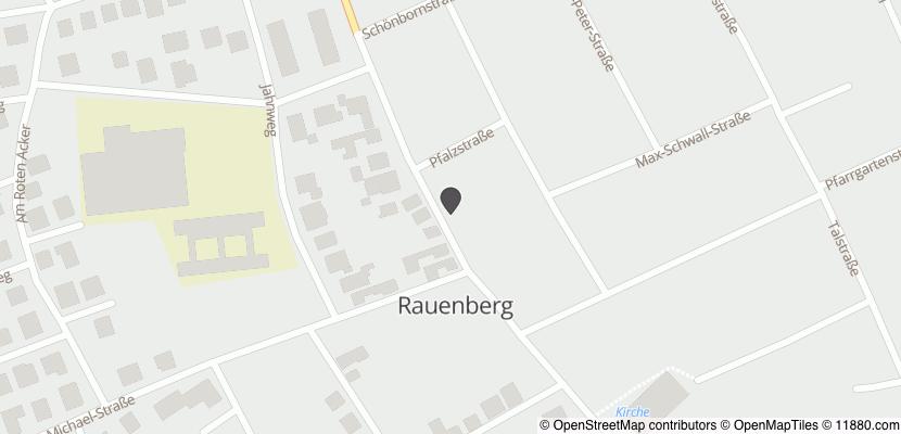 Auf Stadtplan Rauenberg, Kraichgau anzeigen