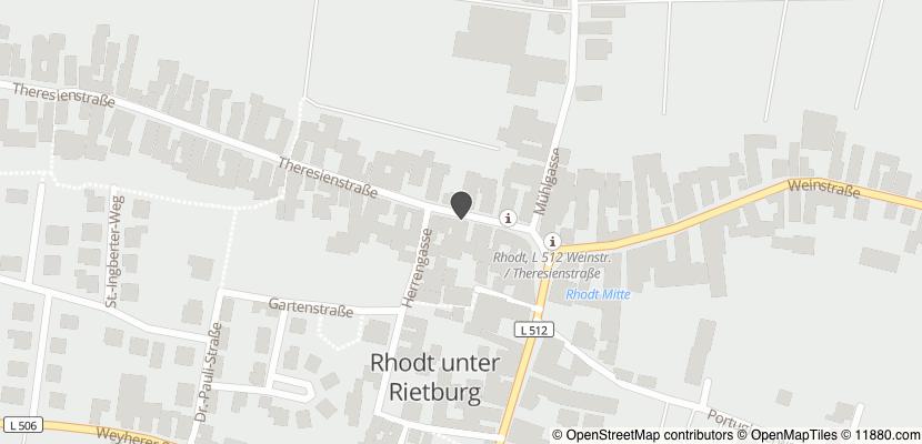 Auf Stadtplan Rhodt unter Rietburg anzeigen