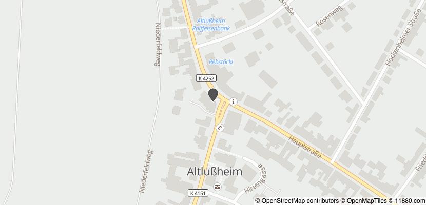 Auf Stadtplan Altlußheim anzeigen