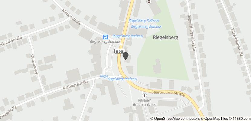 Auf Stadtplan Riegelsberg, Saar anzeigen