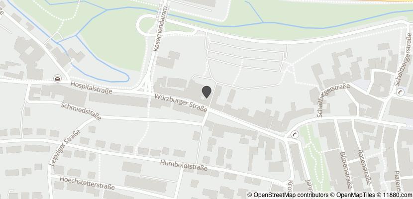 Auf Stadtplan Ansbach, Mittelfranken anzeigen