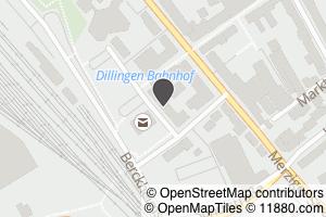 Auf Stadtplan Dillingen, Saar anzeigen