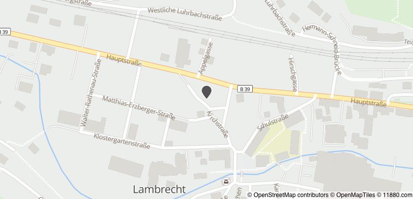 Auf Stadtplan Lambrecht, Pfalz anzeigen
