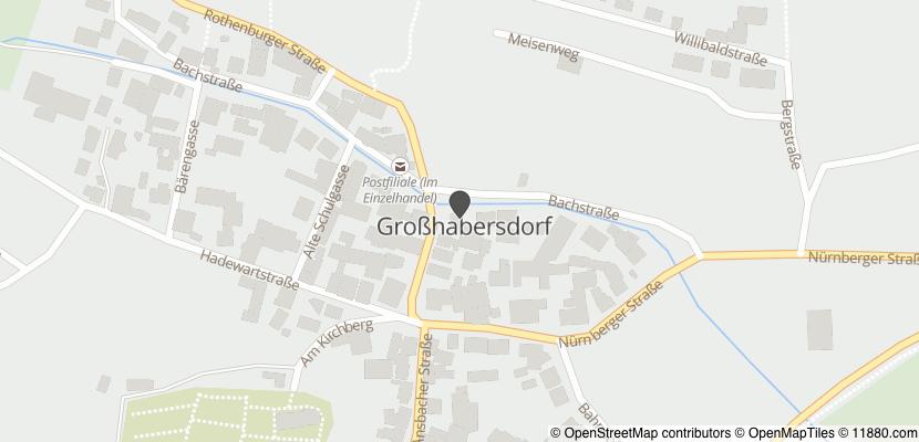 Auf Stadtplan Großhabersdorf anzeigen