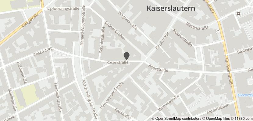 Auf Stadtplan Kaiserslautern anzeigen