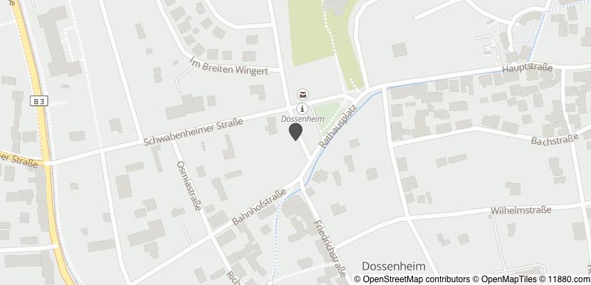 Auf Stadtplan Dossenheim anzeigen
