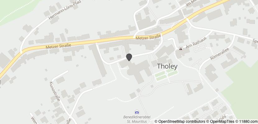 Auf Stadtplan Tholey anzeigen