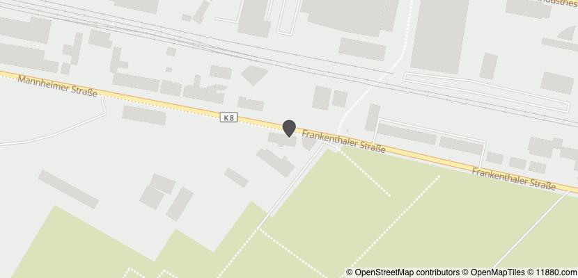 Auf Stadtplan Ludwigshafen am Rhein anzeigen