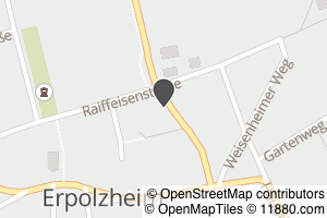 Auf Stadtplan Erpolzheim bei Ludwigshafen am Rhein anzeigen