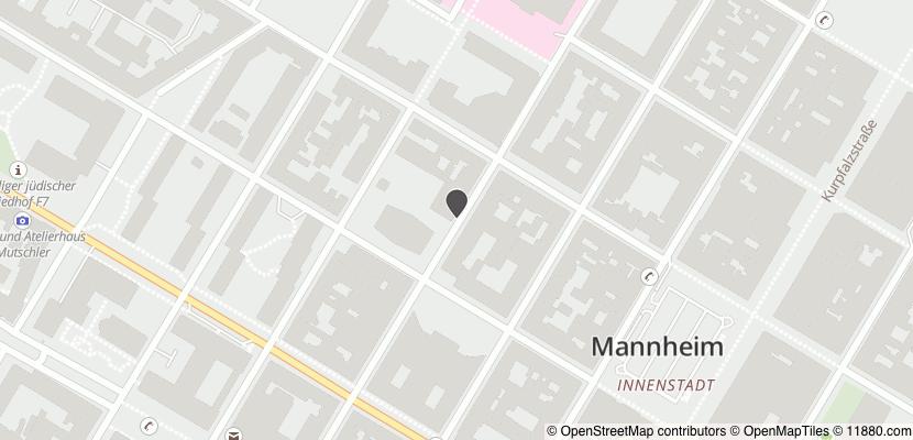 Auf Stadtplan Mannheim anzeigen