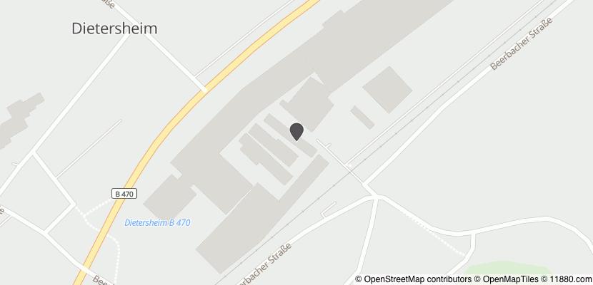 Auf Stadtplan Dietersheim, Mittelfranken anzeigen