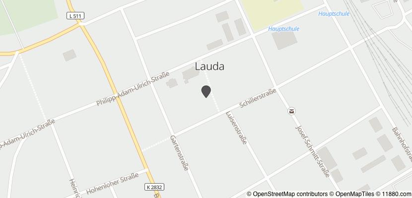 Auf Stadtplan Lauda-Königshofen anzeigen